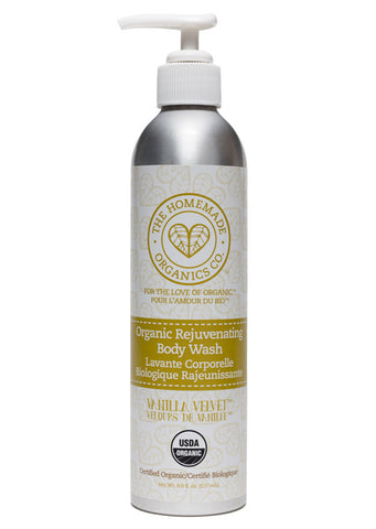 Organic Rejuvenating Body Wash