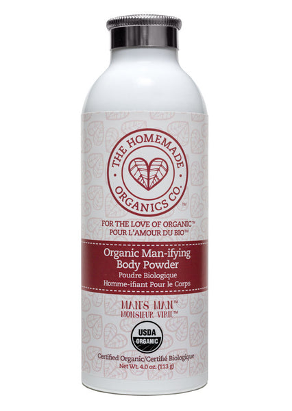 Organic Man-ifying Body Powder
