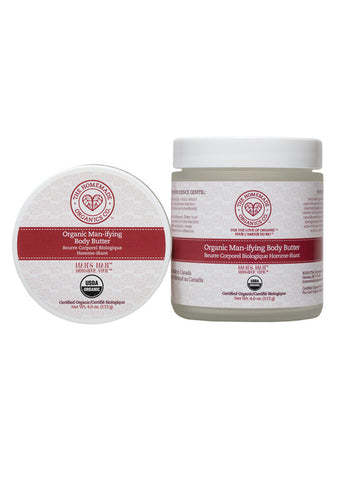 Organic Man-ifying Body Butter
