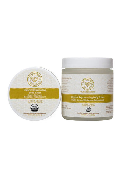 Organic Rejuvenating Body Butter