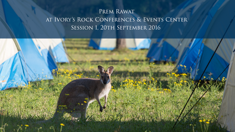 Prem Rawat at Ivory's Rock Conferences and Events Center - Day 2, Session 1
