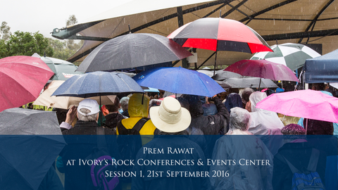 Prem Rawat at Ivory's Rock Conferences and Events Center - Day 3, Session 1