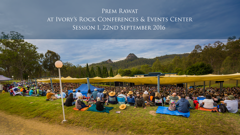 TimelessToday, Prem Rawat at Ivory's Rock Conferences and Events Center - Day 4 Session 1
