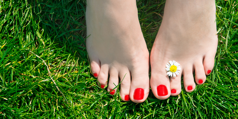 A DIY pedicure in 6 easy steps