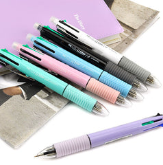 4+1 Pastel Multifunction Ballpoint Pen and Mechanical Pencil