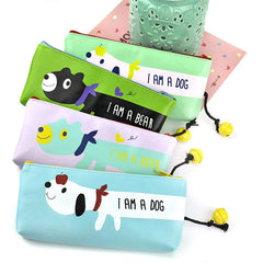 Animal Bell Pencil Pouch