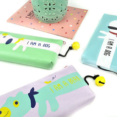 Animal Bell Pencil Pouch Feature