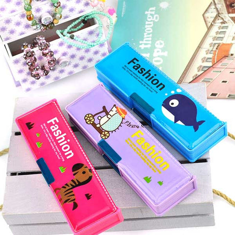 Animal Fashionista Pencil Box