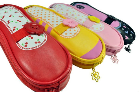 Ballet Flat Shoe Pencil Pouches