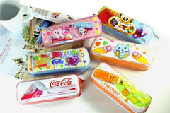Deluxe Flowing Soda Pencil Pouches