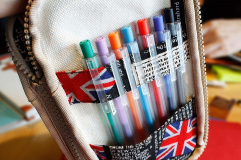 British Rock Butterfly Pencil Pouch