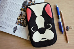 French Bulldog Butterfly Pencil Pouch