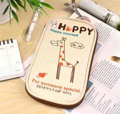 Forever Happy Butterfly Pencil Pouch