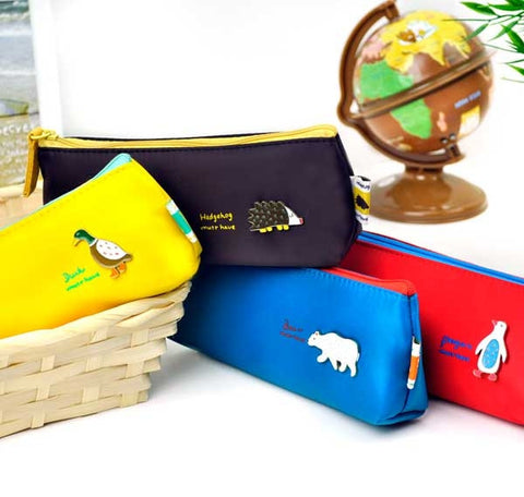 Little Animal Pencil Pouches