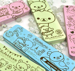 Rilakkuma and Friends Tin Pencil Cases