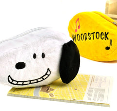 Snoopy and Woodstock Plush Pencil Cases