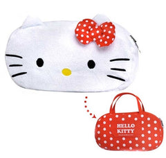 Hello Kitty and My Melody Reversible Pencil Pouch and Bag