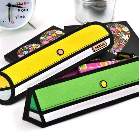 Fakus Slim Pencil Cases