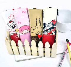 Timeless Characters Pencil Pouch with Bonus Notebook Jacket