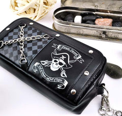 Punk Pirate Pencil Pouch