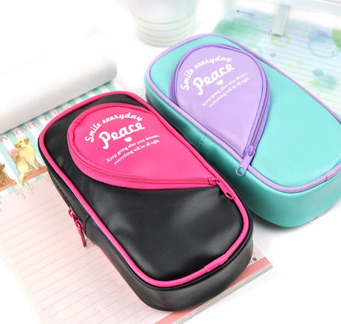 Heart Pocket Pencil Case