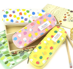 Polka Dot Scribbles Pencil Case