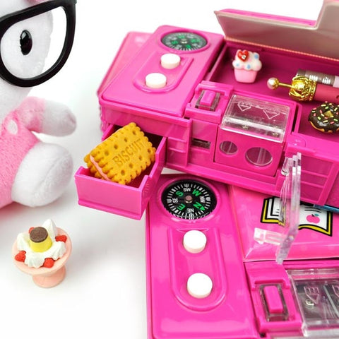Read with Hello Kitty Automatic Pencil Box