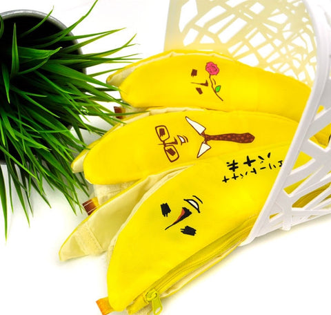 Banana Peel Pencil Case Collection