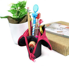 Double Function Pencil Case and Pen Stand