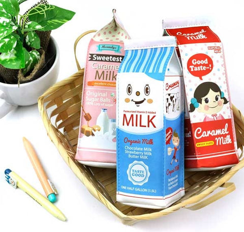 Delicious Milk Pencil Pouch