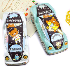 Rilakkuma in Space Tin Car Pencil Box
