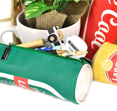 Classic Cylinder Can Pencil Pouch Detail