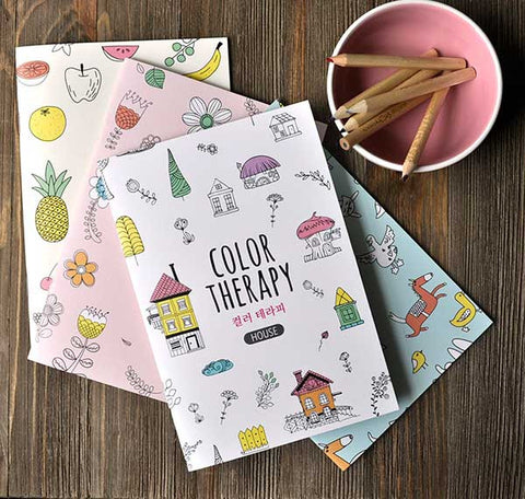 Color Therapy Notebook
