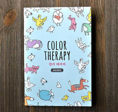 Color Therapy Notebook-Animals