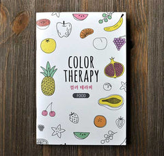 Color Therapy Notebook-Food