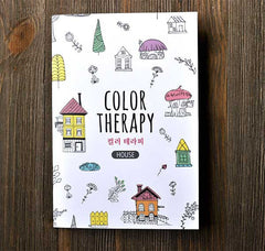 Color Therapy Notebook-Houses
