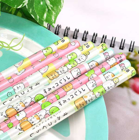 Colorful Sumikko Gurashi Wooden Pencil