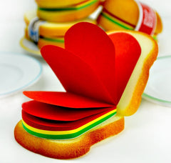 Burger and Sandwich Notepads