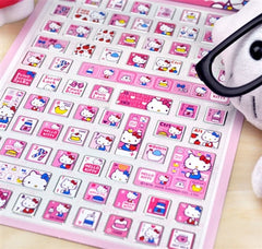 Hello Kitty Keyboard Button Stickers