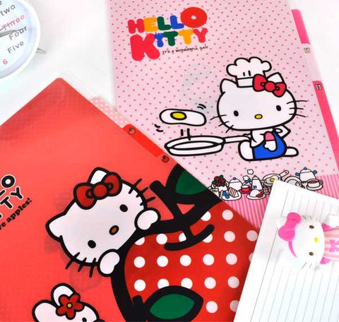 Hello Kitty 4-subject Slim Organizer