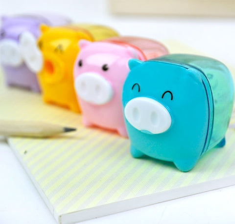 Mini Piggy Pencil Sharpener