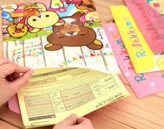Rilakkuma Subject Envelope