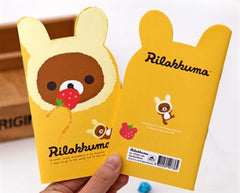Rilakkuma Cutout Mini Notebook