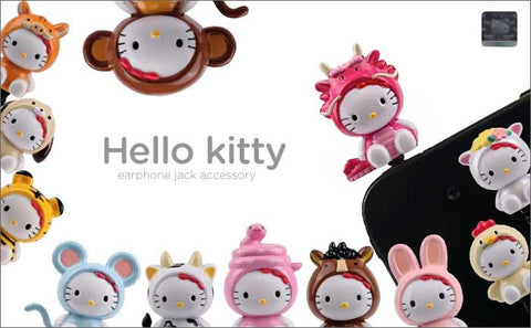Hello Kitty Chinese Zodiac Earphone Jack Accessory