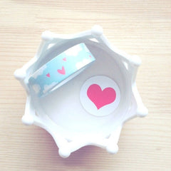 Hearts and Clouds Washi Tape