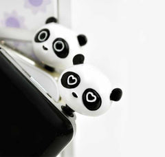 Panda Buddies Earphone Jack Accessories