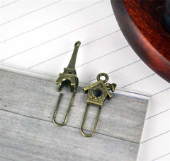 Vintage Bookmark Clips Collection
