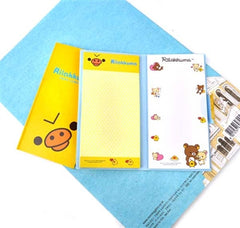 Rilakkuma Sticky Note Books