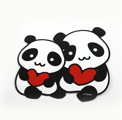 Stickers For Kids Panda Buddies Car Decal Stickers - Car decal stickers