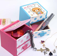 Bunny-Costume Rilakkuma Mini Accessories Drawer